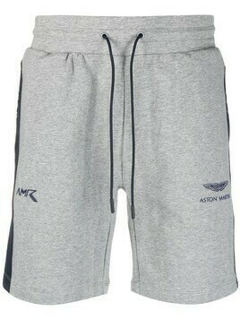 Hackett x Aston Martin racing shorts - Grey