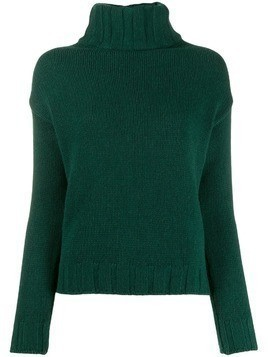 Aragona turtleneck knit jumper - Green