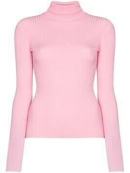 Dodo Bar Or roll-neck ribbed jumper - Pink