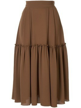 Edeline Lee Muller midi skirt - Brown