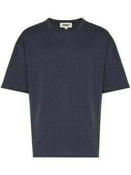 YMC Triple short-sleeve T-shirt - Blue