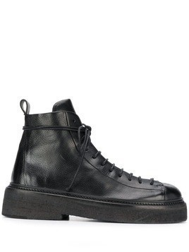 Marsèll army ankle boots - Black