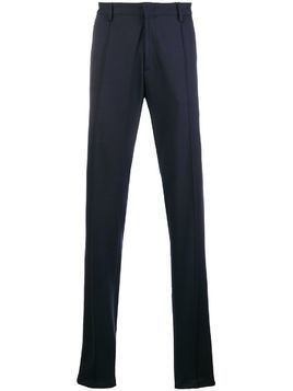 Armani Jeans jersey tailored trousers - Blue