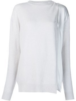 Haider Ackermann 'Invidia' jumper - Nude & Neutrals