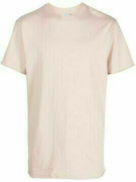 John Elliott University raw-edge T-shirt - Pink