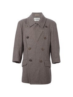 Issey Miyake Vintage double breasted coat - Grey