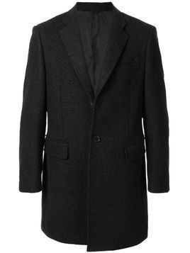 D'urban single-breasted tailored coat - Black