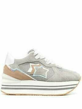 Atlantic Stars Andromeda flatform sneakers - Grey