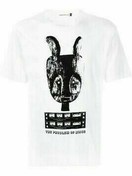 UNDERCOVER graphic-print short-sleeved T-shirt - White