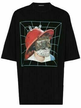 UNDERCOVER No Face graphic-print T-shirt - Black