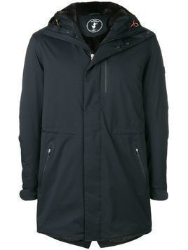 Save The Duck hooded raincoat - Black