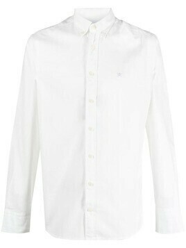 Hackett long-sleeve cotton shirt - White