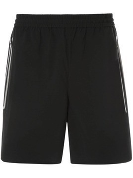 Blackbarrett side stripe running shorts