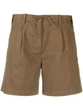 Aspesi waist-tied utility shorts - Brown