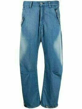 Y's faded wide-leg jeans - Blue
