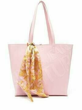 Versace Jeans Couture open-top tote - PINK