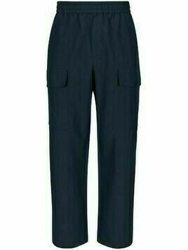 Wood Wood wide-leg tapered trousers - Blue
