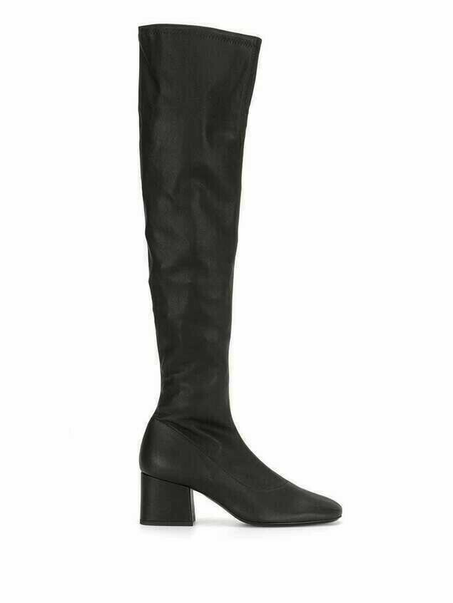 BY FAR Carlos knee-high boots - Black