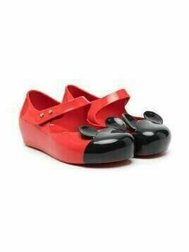 Mini Melissa Mickey Mouse ballerina shoes - Red