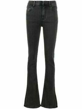 Ssheena Joyce high-waisted bootcut jeans - Grey