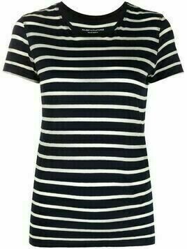Majestic Filatures striped cotton T-shirt - Blue