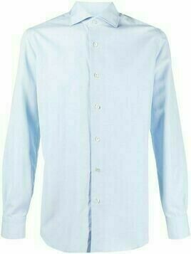 Barba tailored collared shirt - Blue