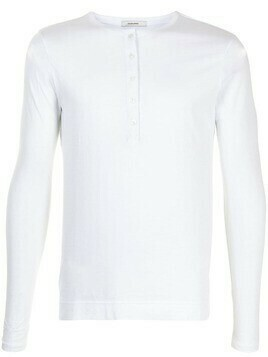 Adam Lippes long-sleeved cotton T-shirt - White
