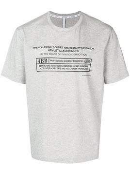 Blackbarrett Warning T-shirt - Grey