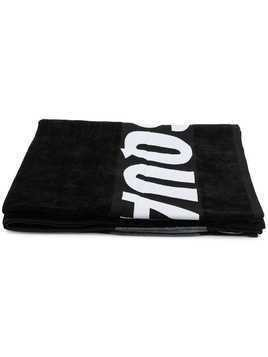 Dsquared2 logo towel - Black
