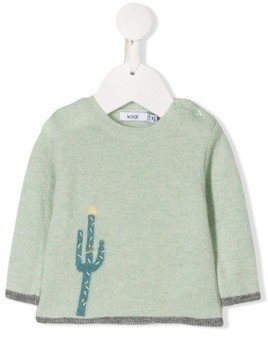 Knot Billy the cactus sweater - Green