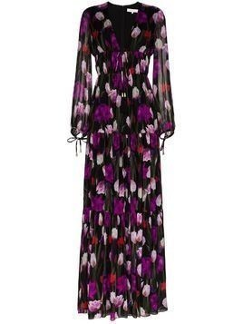Borgo De Nor Freya tiered maxi dress - Black