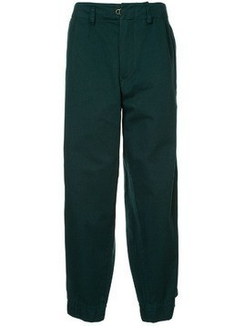 Kolor elasticated cuff trousers - Green
