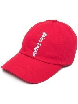Palm Angels embroidered logo baseball cap