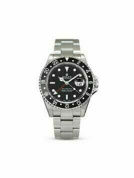 Rolex 2001 pre-owned GMT-Master II 40mm - Black