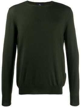 Fay round neck sweater - Green