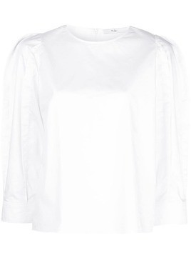 Tibi sculpted tunic - White