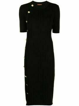 Altuzarra Minamoto knitted midi dress - Black
