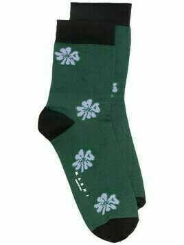 Marni floral-pattern ankle socks - Green