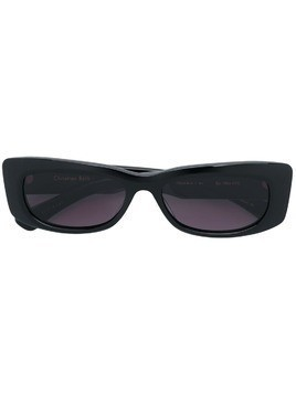 Christian Roth square frame sunglasses - Black