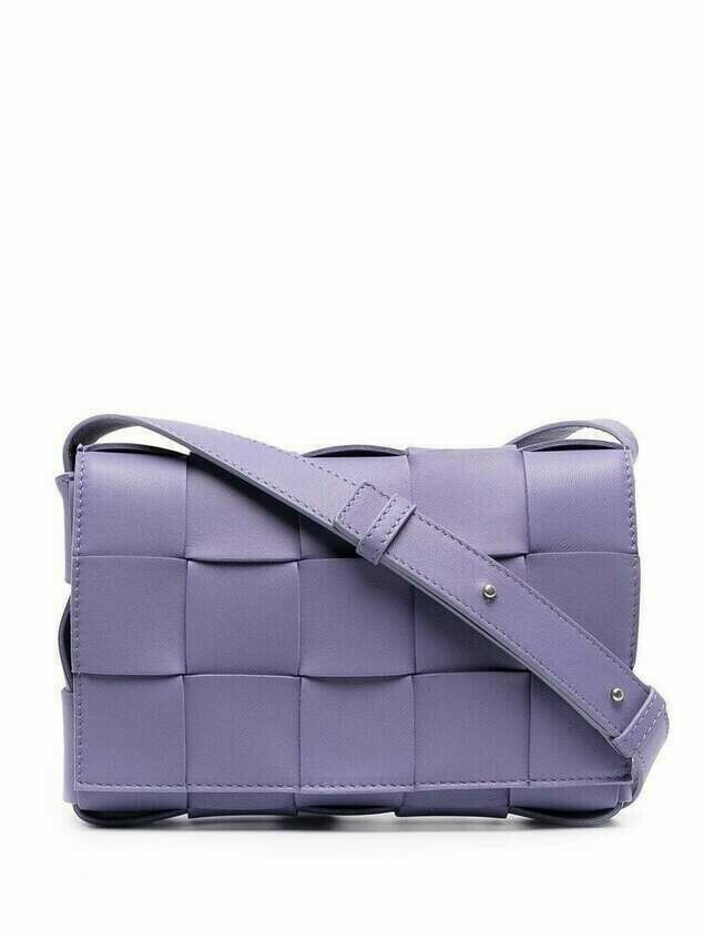 Bottega Veneta Cassette crossbody bag - PURPLE