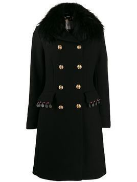 Bazar Deluxe double breasted coat - Black