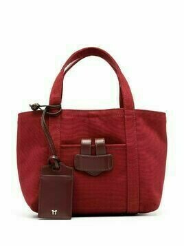 Tila March canvas tote bag - Red