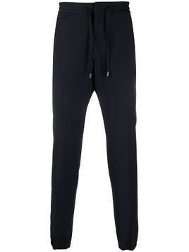 Z Zegna elasticated tapered trousers - Blue