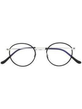 Cutler & Gross round frame glasses - Black