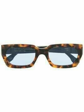Retrosuperfuture tortoiseshell-frame sunglasses - Brown