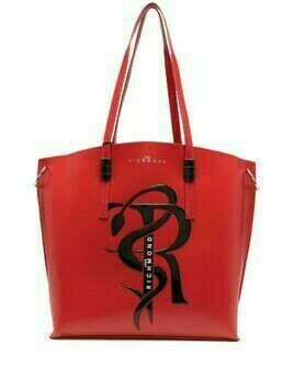 John Richmond Wandix leather shopping bag - Red
