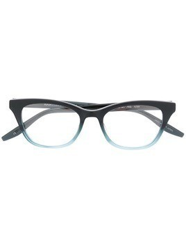 Barton Perreira Nina rectangular glasses - Black