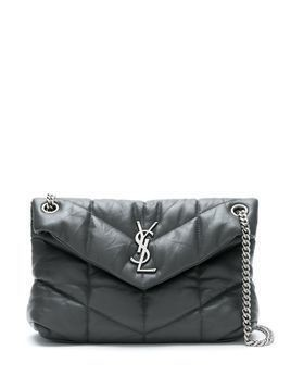 Saint Laurent small LouLou monogram shoulder bag - Grey