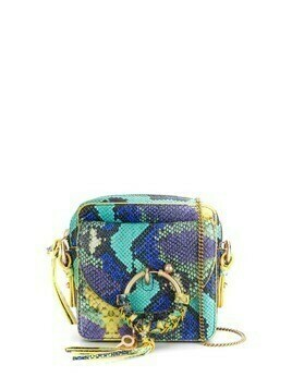 See by Chloé Joan snake-effect crossbody bag - Purple