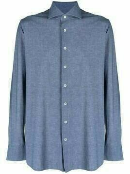 Lardini button-down fitted shirt - Blue
